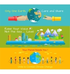 World environment day concept vector