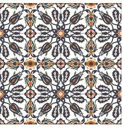 Arabesque vintage decor floral ornate seamless vector