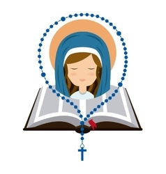 Catolic religion design vector