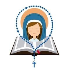 Catolic religion design vector image vector image