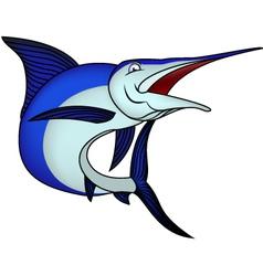 Marlin fish vector