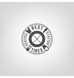 Tires shop logo006 a vector