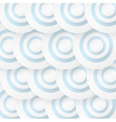 Abstract background with blue circles vector image vector image