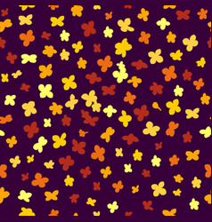 Simple floral seamless pattern vector