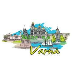Varna doodles vector