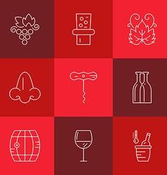 Wine Industry vector image vector image