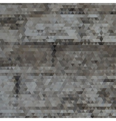 Triangle grayscale abstract background vector image