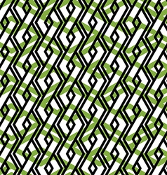 Bright rhythmic textured endless pattern green vector