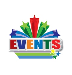 Events design vector