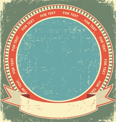 Vintage label background vector