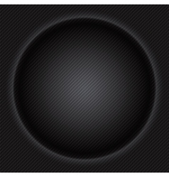 Carbon fiber circle texture luxury texture vector image