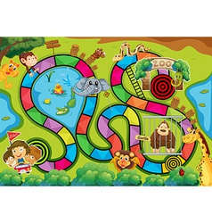 Board game vector image