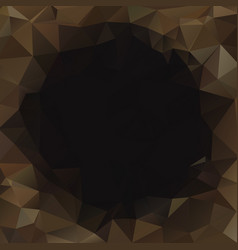 abstract polygonal dark geometric background low vector image vector image