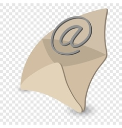 Email cartoon symbol vector