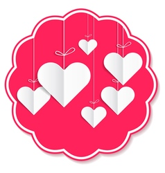 Love confession napkin vector