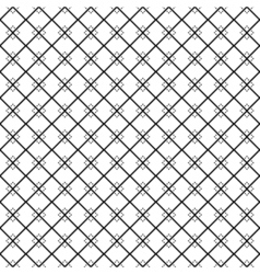 seamless pattern Repeating geometric tiles with vector image vector image