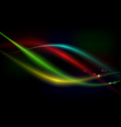 Bright background abstraction with coloured lines vector