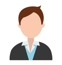 Business man with suit graphic vector