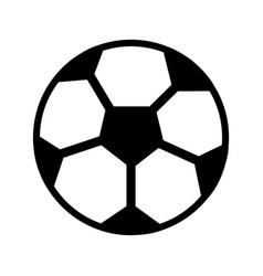 ball football soccer icon image vector image