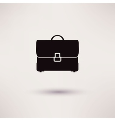 briefcase Icon in the flat style vector image