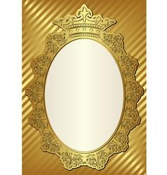 Golden background vector