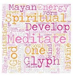 Metaphysical development disciplines part 2 text vector