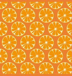 orange pattern background vector image