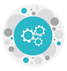of internet symbol on vector image