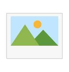 Picture file image icon vector