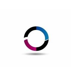 Letter o logo icon design template elementsletter vector