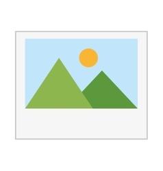 Picture file image icon vector