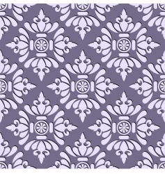 seamless stylish wallpaper vector image