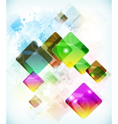 Abstract futuristic background vith falling vector
