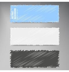 Abstract background scribble dark vector