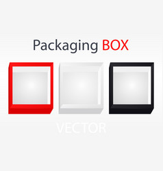 Cardboard box with ribbon and bowknot vector
