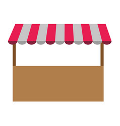store structure icon vector image vector image