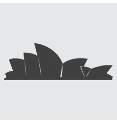 Sydney Opera House icon vector image