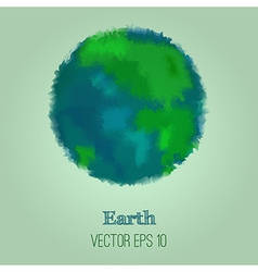 Abstract earth vector