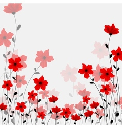 Tall poppys vector