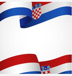 Croatia insignia vector