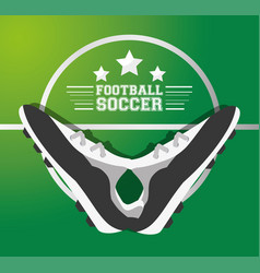 football soccer sport game to competition vector image