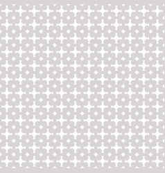 geometric ornament background gray and white vector image vector image