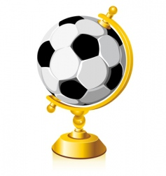 world soccer vector image