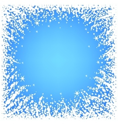 Abstract Christmas frame vector image vector image