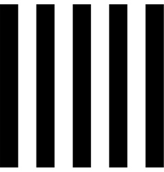 Black and white striped minimal simple seamless vector image vector image