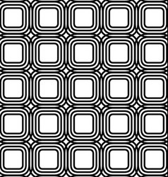 Rounded square grid pattern design background vector