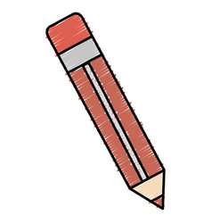 Pencil write isolated icon vector
