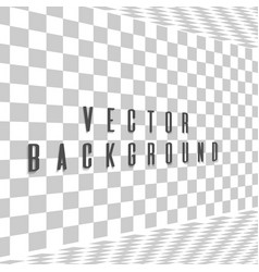 abstract background with a side perspective vector image vector image