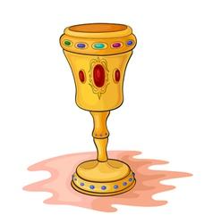 Magic cup vector
