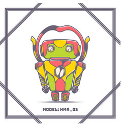 Robot model number hma 03 vector